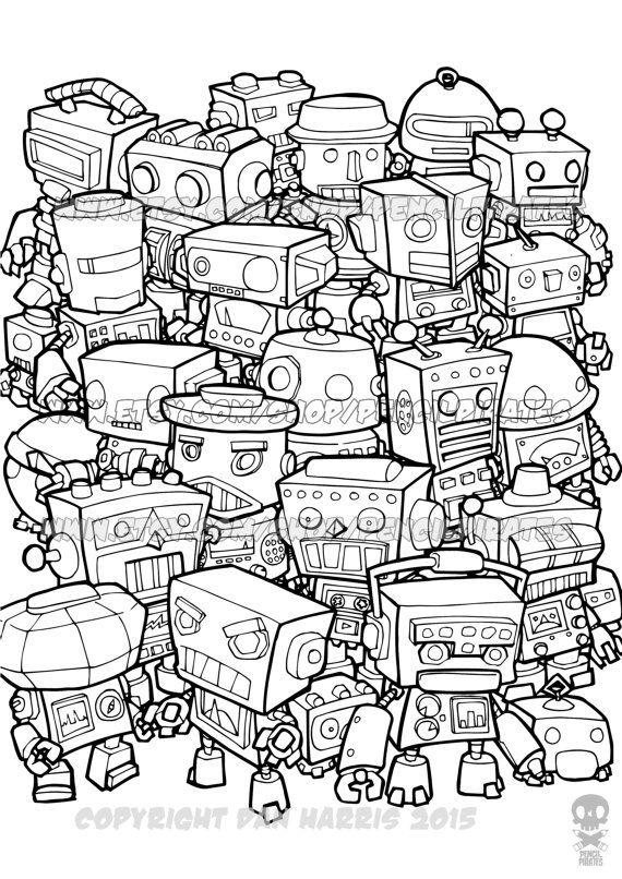 Retro coloring #11, Download drawings