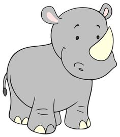 Rhino clipart #16, Download drawings