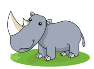 Rhino clipart #11, Download drawings