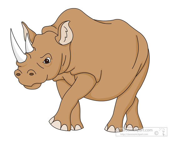 Rhino clipart #10, Download drawings