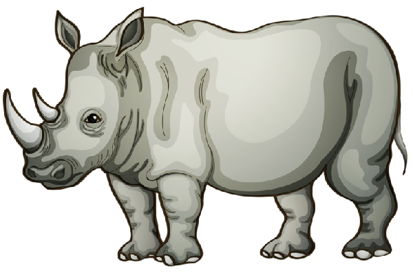 Rhino clipart #14, Download drawings