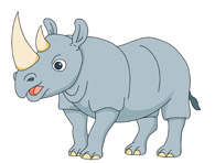 Rhino clipart #19, Download drawings