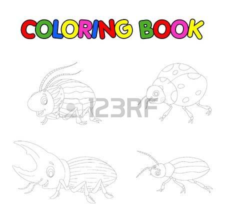 Rhinoceros Beetle coloring #3, Download drawings