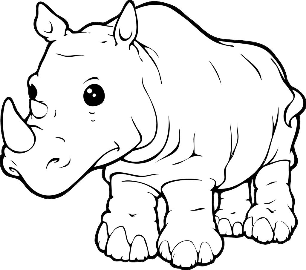 Rhinoceros Beetle coloring #7, Download drawings