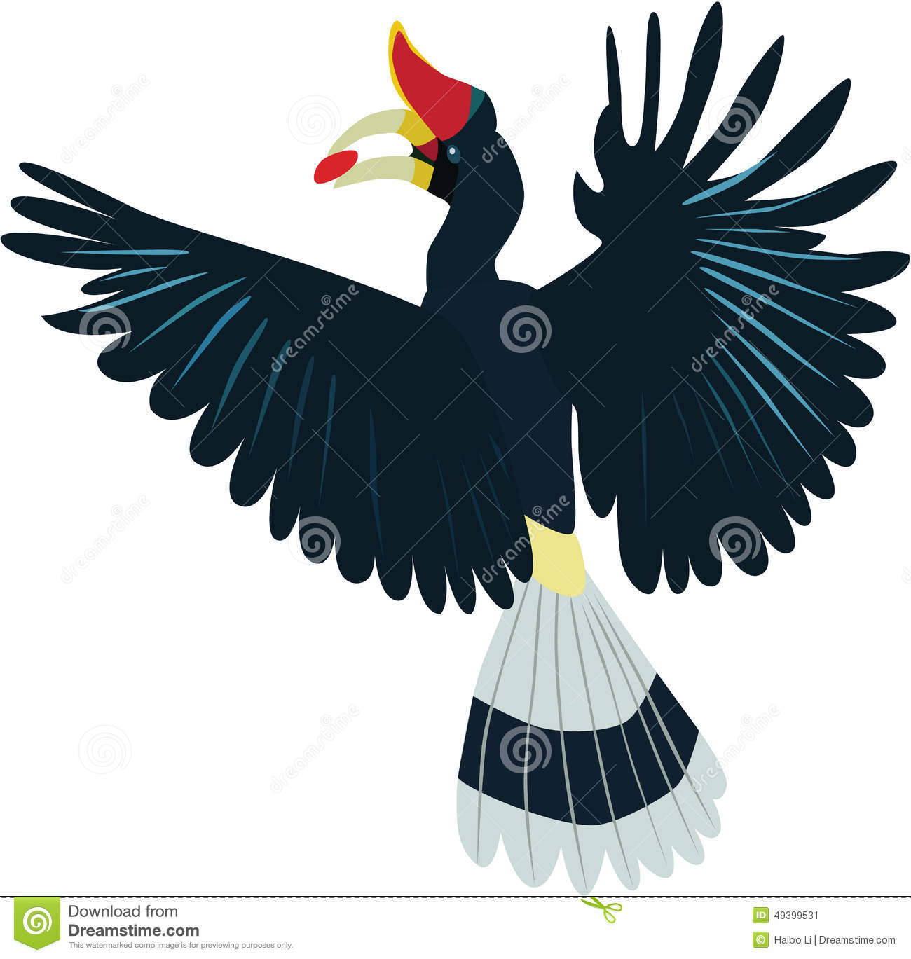 Rhinoceros Hornbill clipart #3, Download drawings