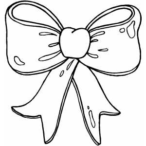 Bow coloring #14, Download drawings