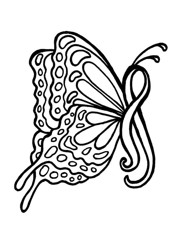Ribbon coloring #1, Download drawings