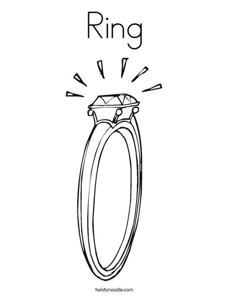 Rings coloring #14, Download drawings