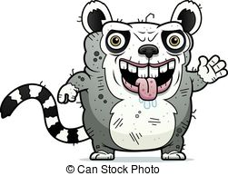 Ring-tailed Lemur clipart #18, Download drawings