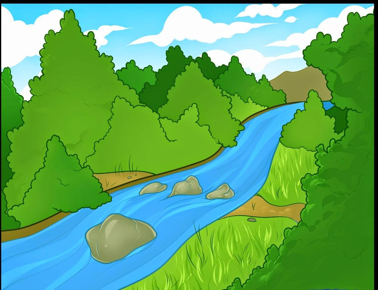 River clipart #14, Download drawings