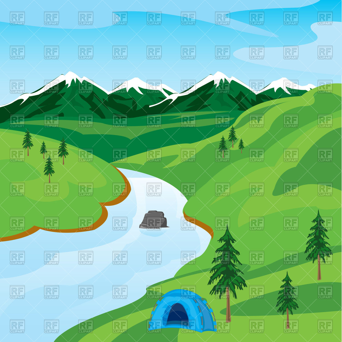 River clipart #13, Download drawings
