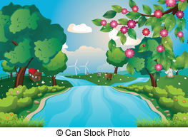 River clipart #20, Download drawings