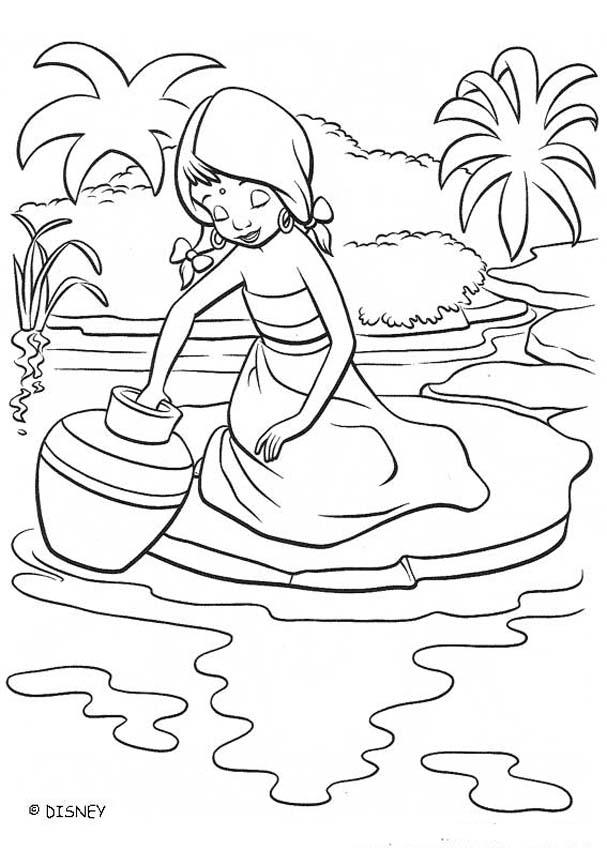 River coloring #10, Download drawings