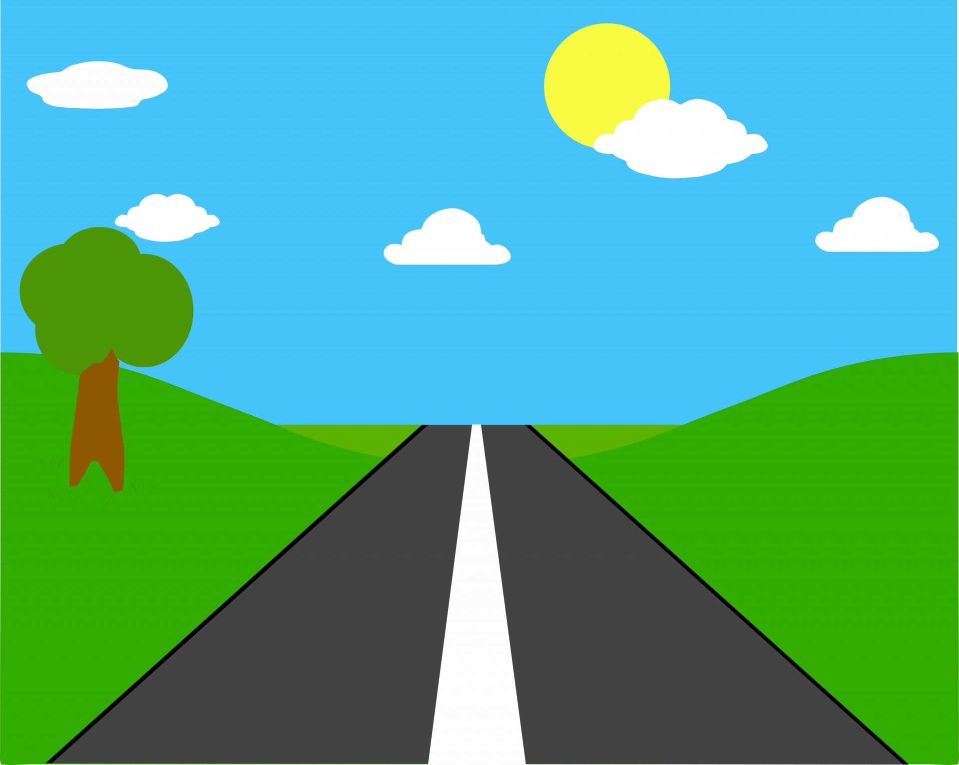 Road clipart #5, Download drawings