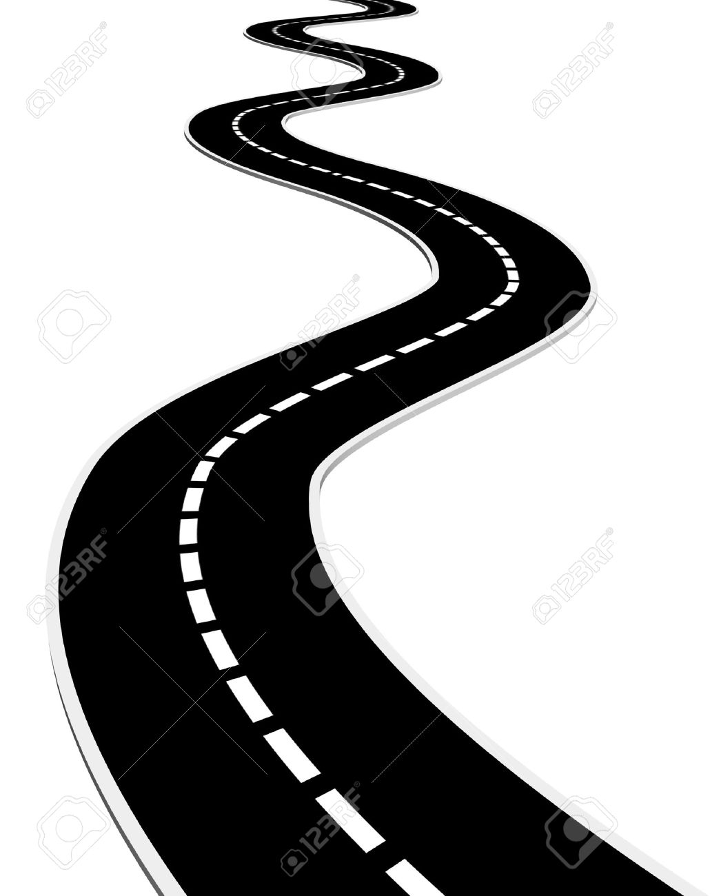 Road clipart #1, Download drawings