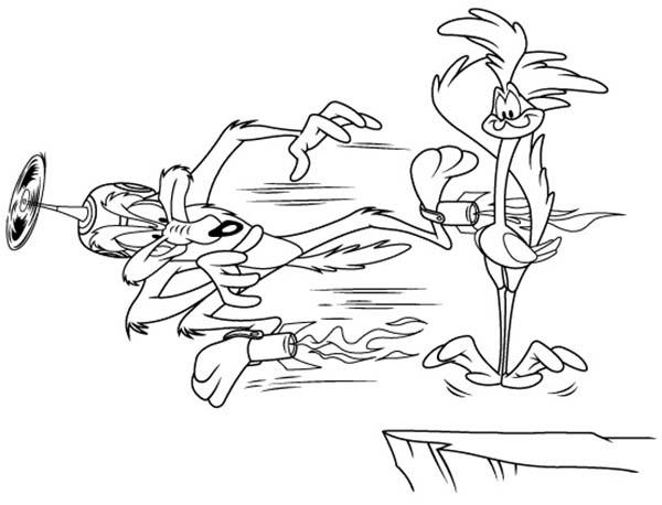Roadrunner coloring #10, Download drawings