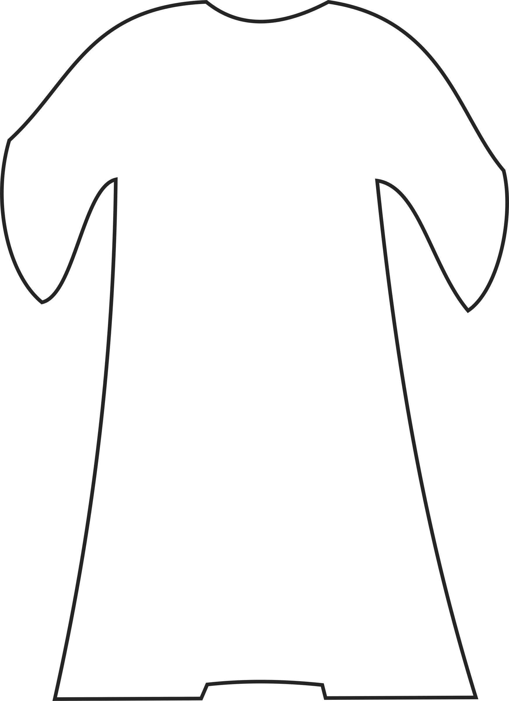 Robe coloring #7, Download drawings