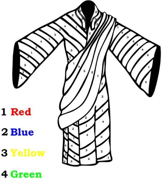Robe coloring #5, Download drawings