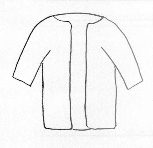 Robe coloring #4, Download drawings