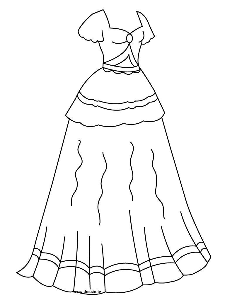Robe coloring #1, Download drawings