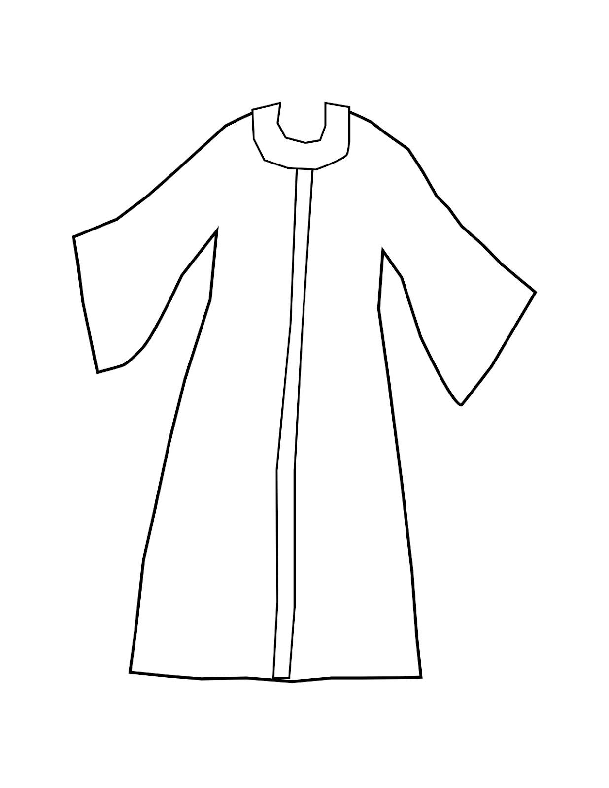 Robe coloring #12, Download drawings