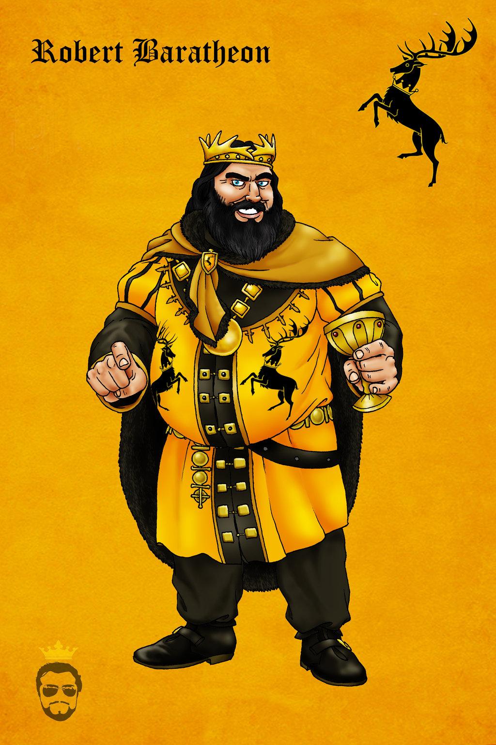 Robert Baratheon clipart #5, Download drawings