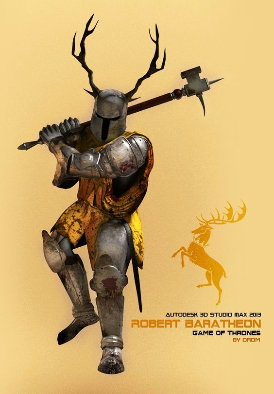 Robert Baratheon clipart #14, Download drawings