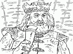 Robert Baratheon coloring #18, Download drawings