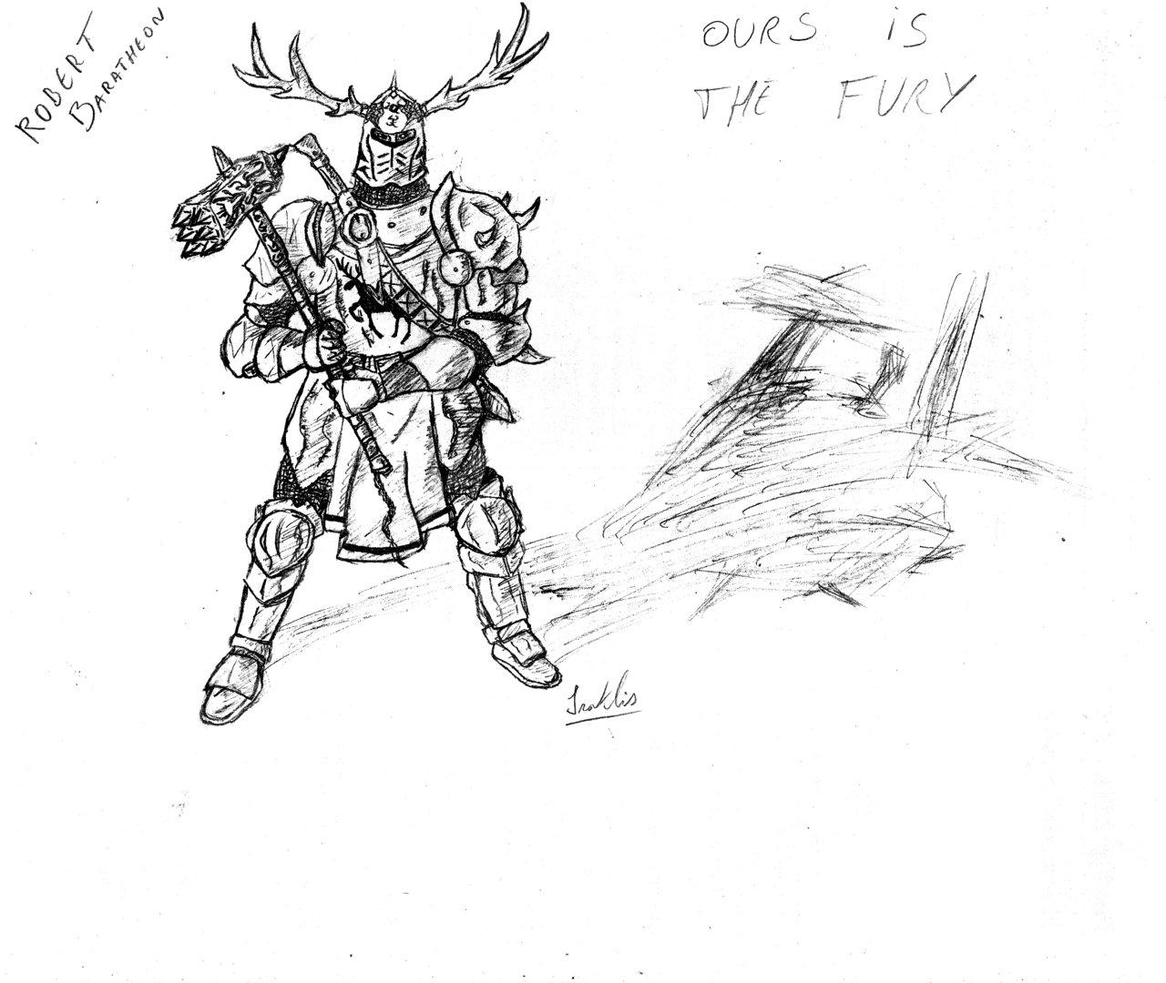 Robert Baratheon coloring #14, Download drawings