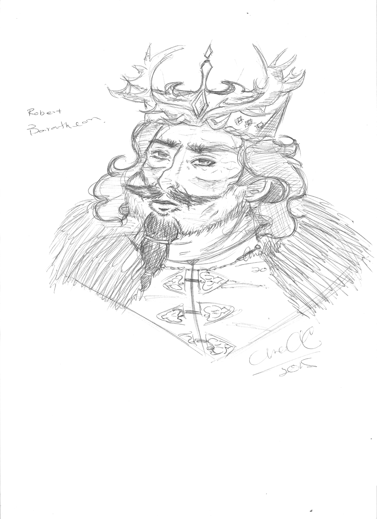 Robert Baratheon coloring #11, Download drawings