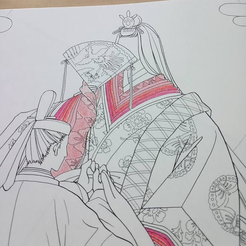 Robes coloring #3, Download drawings
