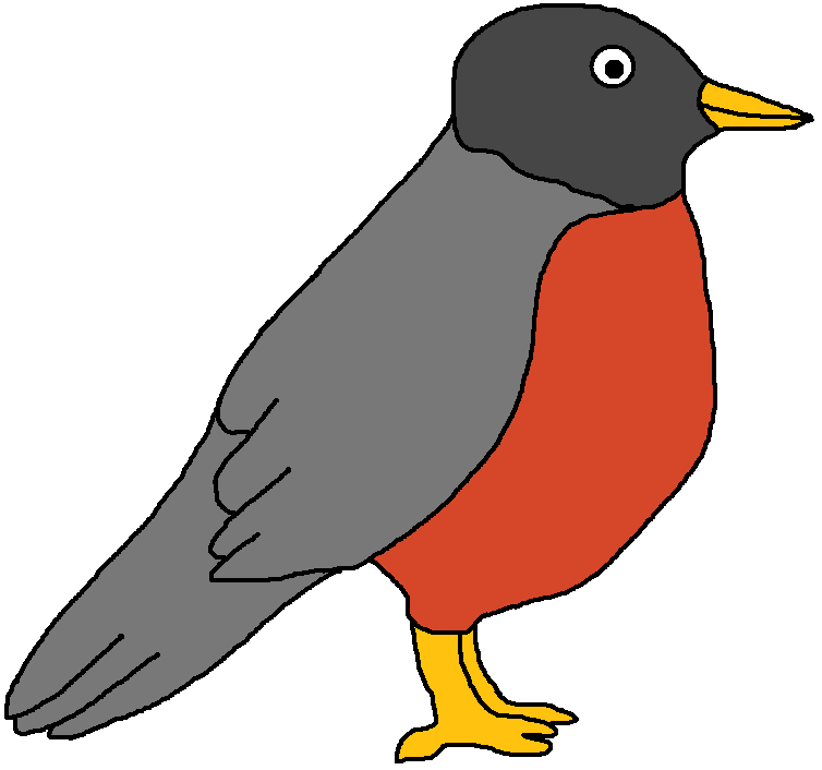 Robin clipart #20, Download drawings