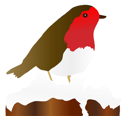 Robin clipart #2, Download drawings