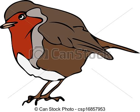 Robin clipart #9, Download drawings