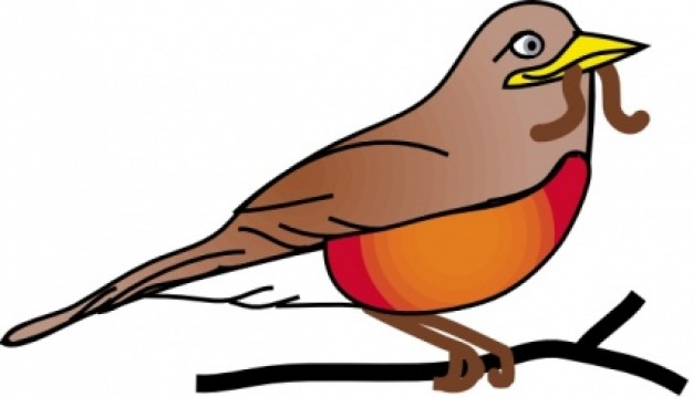 Robin clipart #18, Download drawings