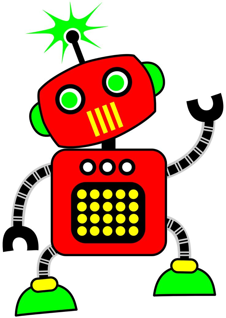 Robot clipart #4, Download drawings