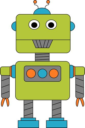 Robot clipart #6, Download drawings