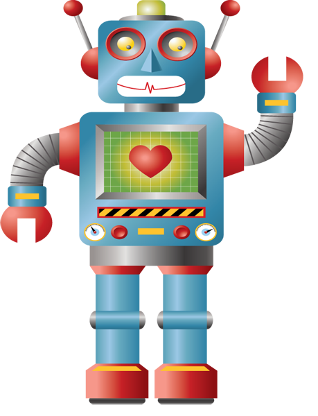 Robot clipart #3, Download drawings