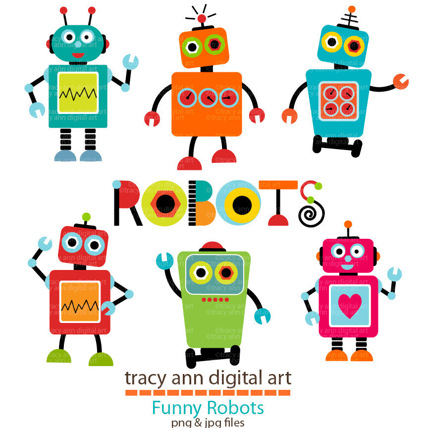 Robot clipart #13, Download drawings