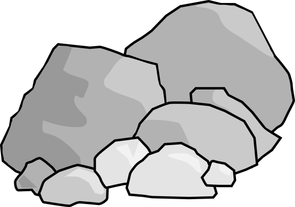 Boulders clipart #10, Download drawings