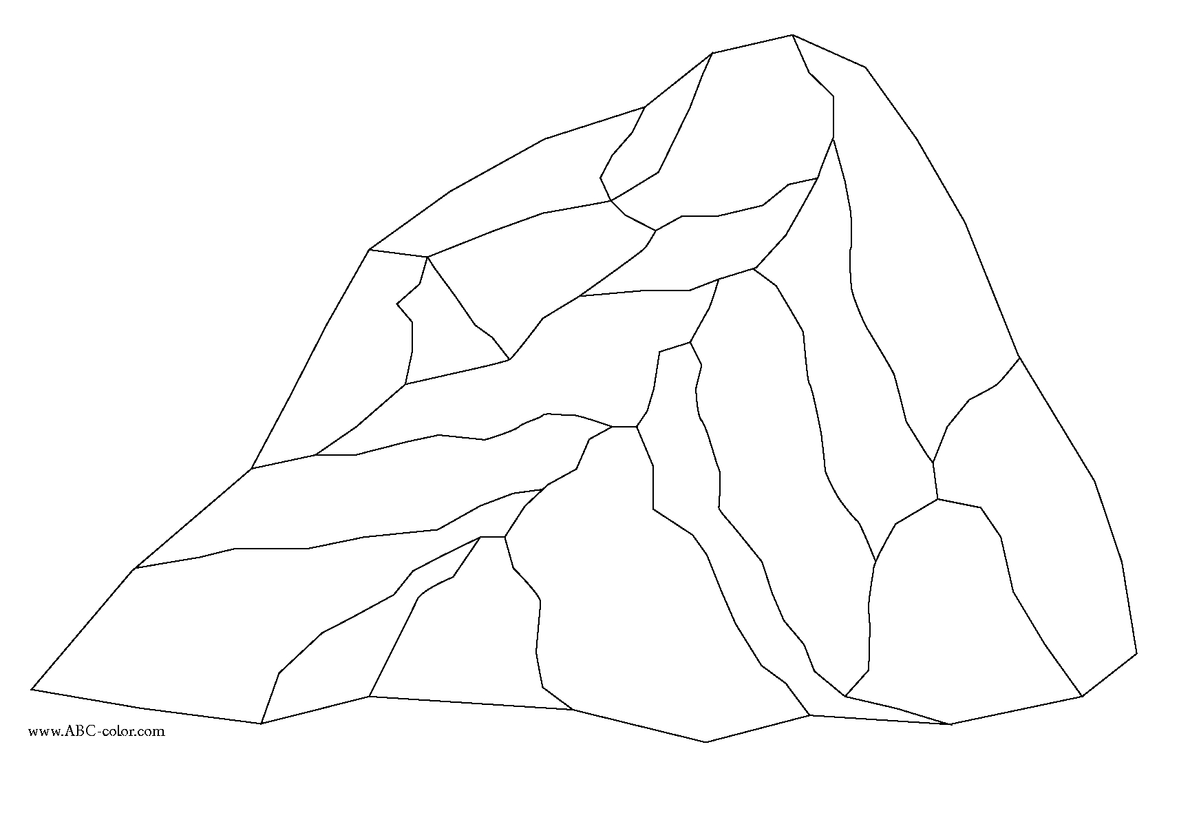 Rock coloring #6, Download drawings