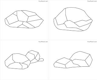 Rock coloring #18, Download drawings