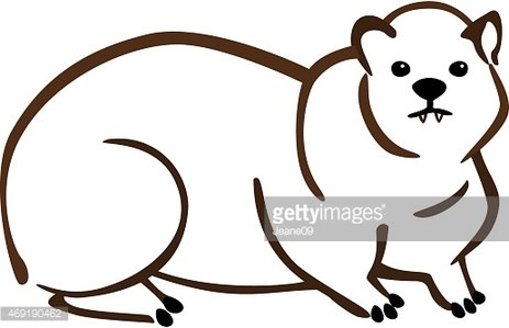 Rock Hyrax clipart #10, Download drawings