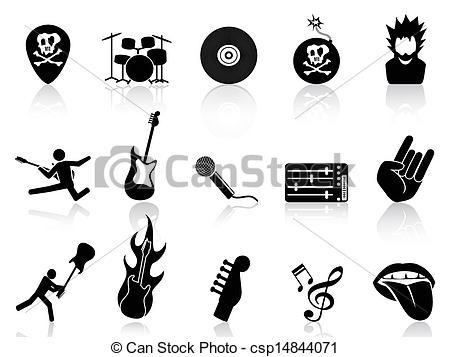Rock & Roll clipart #12, Download drawings