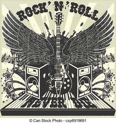 Rock & Roll clipart #10, Download drawings