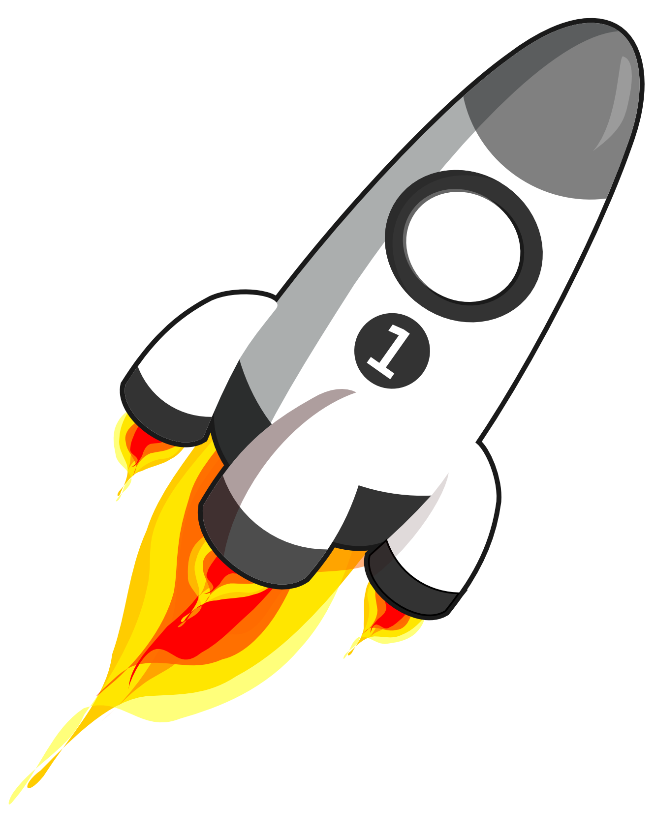 Rocket clipart #9, Download drawings