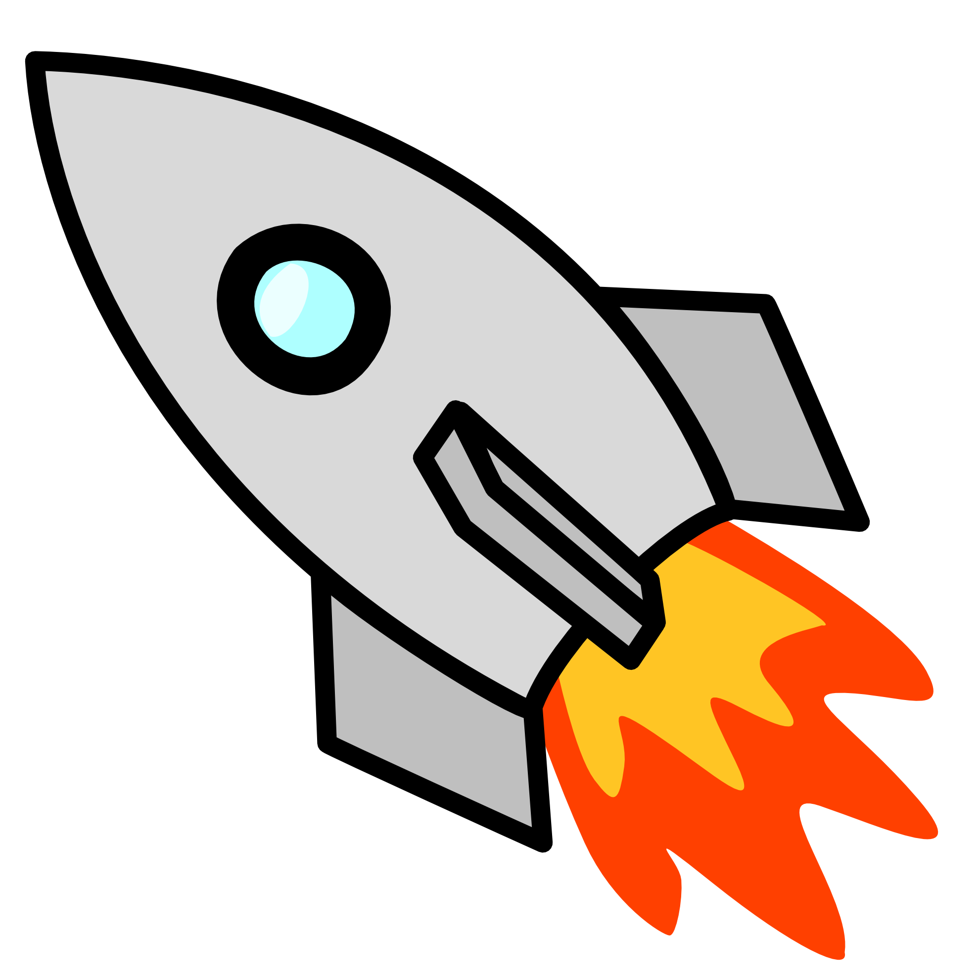 Rocket clipart #17, Download drawings