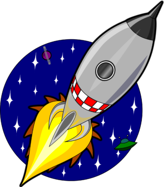 Rocket clipart #2, Download drawings