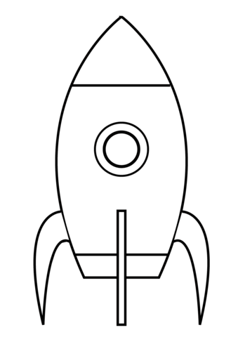 Rocket coloring #10, Download drawings