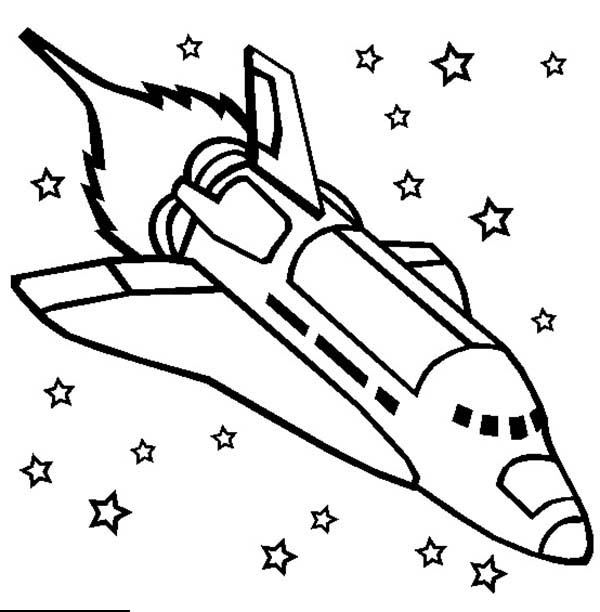 Rocket coloring #1, Download drawings